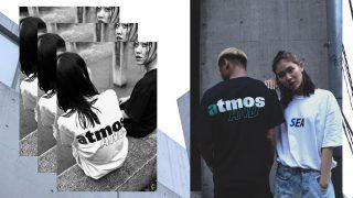 atmos × WIND AND SEA コラボTシャツが7/10に国内発売予定