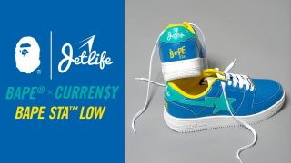 CURREN$Y × BAPE STAが7/11に国内発売予定