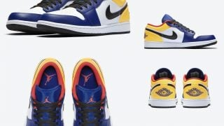 NIKE AIR JORDAN 1 LOW NAVY YELLOWが8/8に国内発売予定
