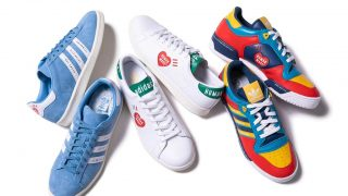 HUMAN MADE × adidas STAN SMITH & CAMPUS & RIVALRYが8/4、8/6に国内発売予定