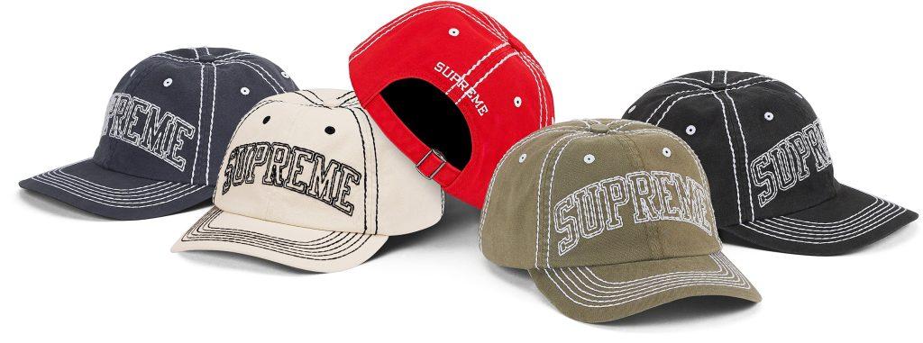 supreme-20aw-20fw-big-stitch-6-panel