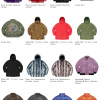 Supreme 20AW コレクションのジャケット一覧ページ