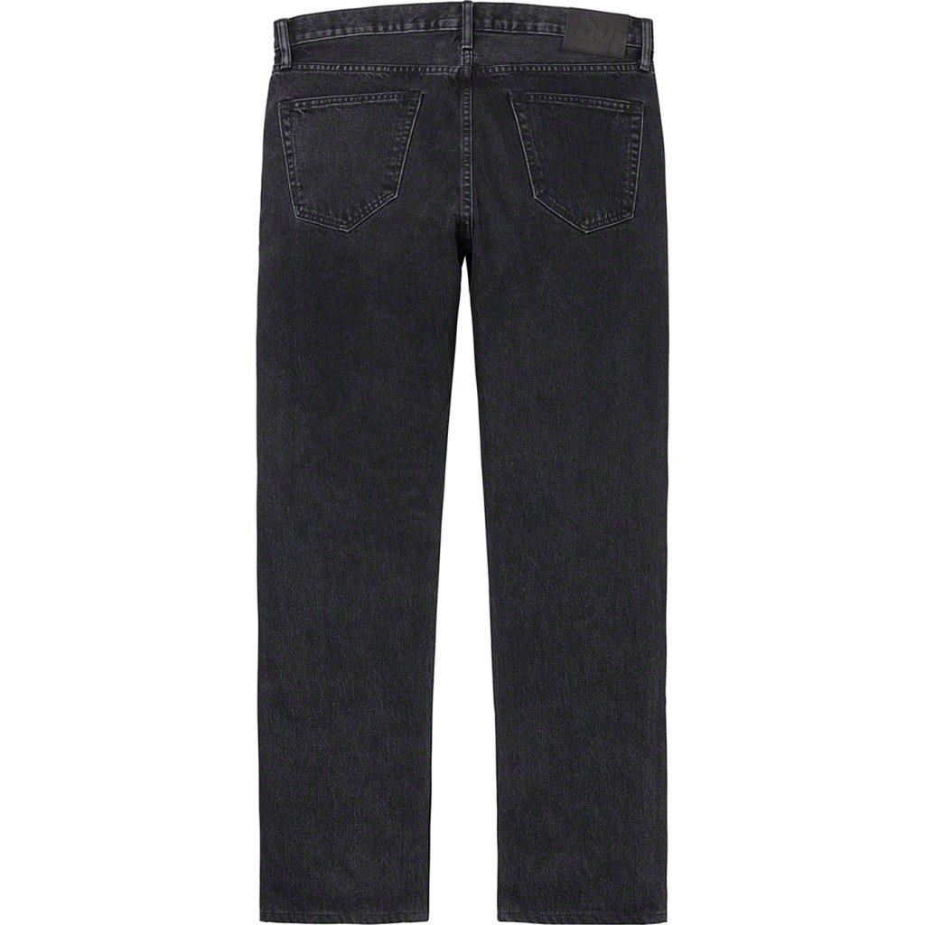 supreme-20aw-20fw-stone-washed-black-slim-jean