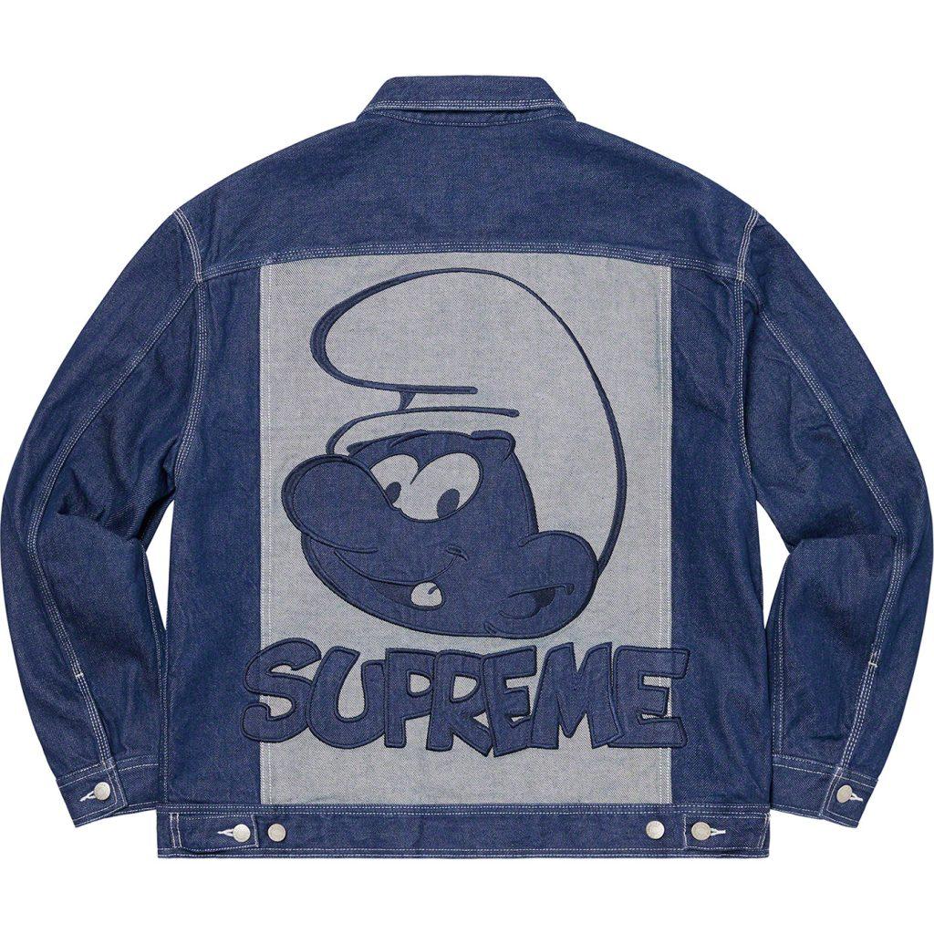 supreme-20aw-20fw-supreme-smurfs-denim-trucker-jacket