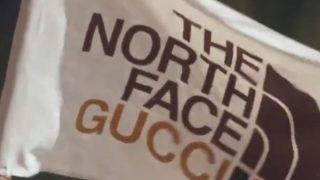 GUCCI × THE NORTH FACE のコラボアイテムが近日発売予定