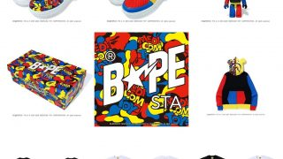 MEDICOM TOY × BAPE A BATHING APE 20AW コラボアイテムが10/3に国内発売予定
