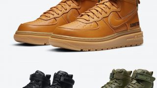 NIKE AIR FORCE 1 GORE-TEX BOOT WHEAT & BLACK & OLIVEが10/19に国内発売予定