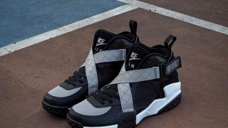 NIKE AIR RAID BLACK GREY WHITEが9/30に国内発売予定