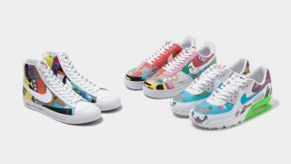 RUOHAN WANG × NIKE AIR FORCE 1 & BLAZER MID & AIR MAX 90 FLYLEATHERが9/24に国内発売予定【直リンク有り】