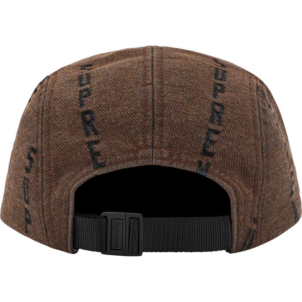 supreme-20aw-20fw-logo-stripe-jacquard-denim-camp-cap