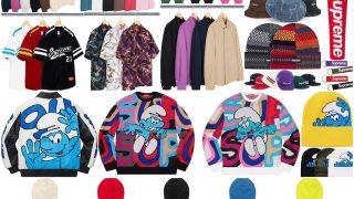 Supreme 公式通販サイトで10月3日 Week6に発売予定の新作アイテム【Smurfsのコラボなど】