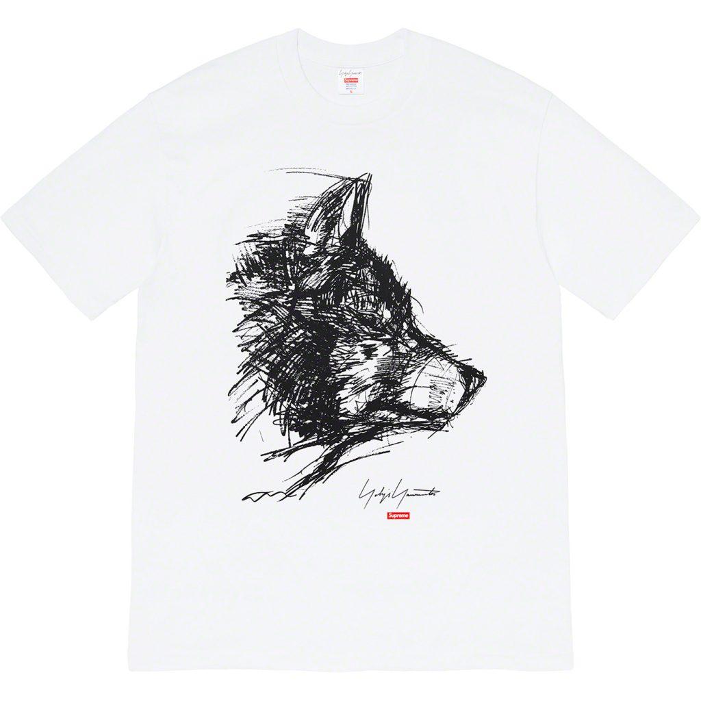 supreme-yohji-yamamoto-collaboration-20aw-20fw-release-20200919-week4-scribble-wolf-tee