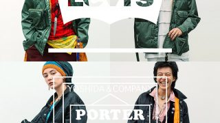 LEVI'S × PORTER TANKER TYPEⅡ TRUCKER JACKET BLACK & GREENが10/23、11/2に国内発売予定