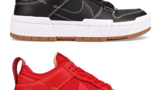 NIKE WMNS DUNK LOW DISRUPT BLACK GUM & REDが10/16に国内発売予定【直リンク有り】