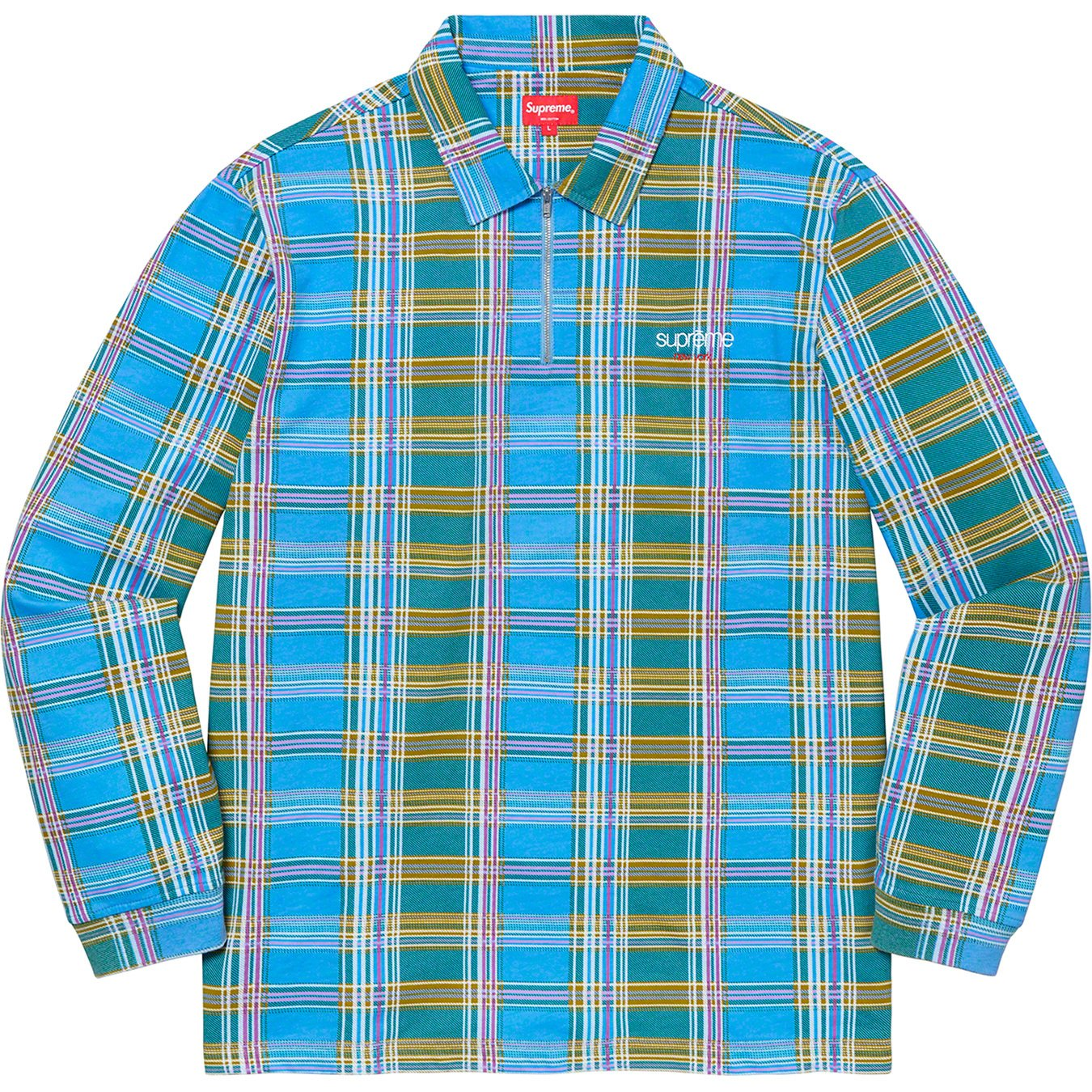 supreme-20aw-20fw-plaid-zip-up-l-s-polo