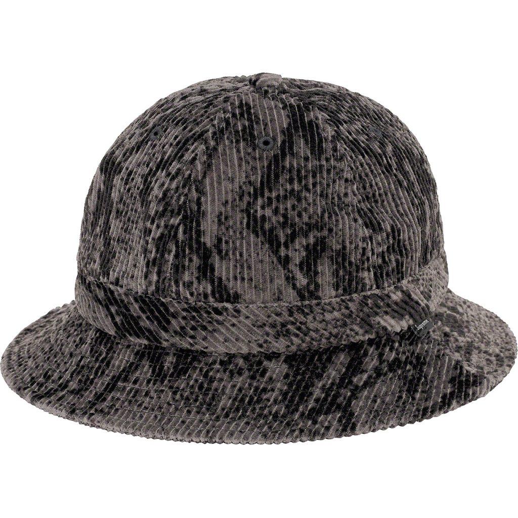 supreme-20aw-20fw-snakeskin-corduroy-bell-hat