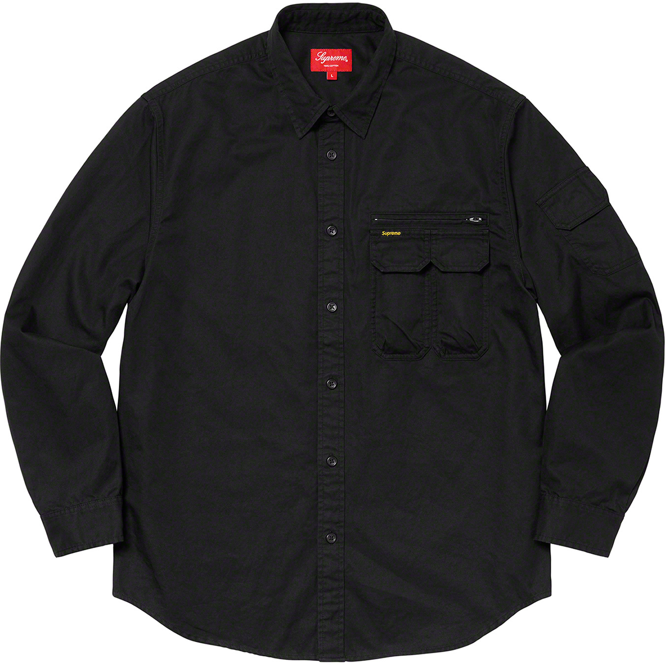 supreme-20aw-20fw-twill-multi-pocket-shirt