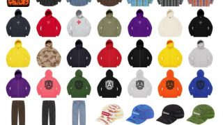 Supreme 公式通販サイトで12月5日 Week15に発売予定の新作アイテム【BOX LOGOパーカーなど】