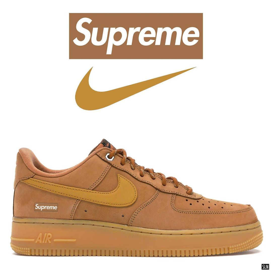 supreme-nike-air-force-1-low-flax-release-2021
