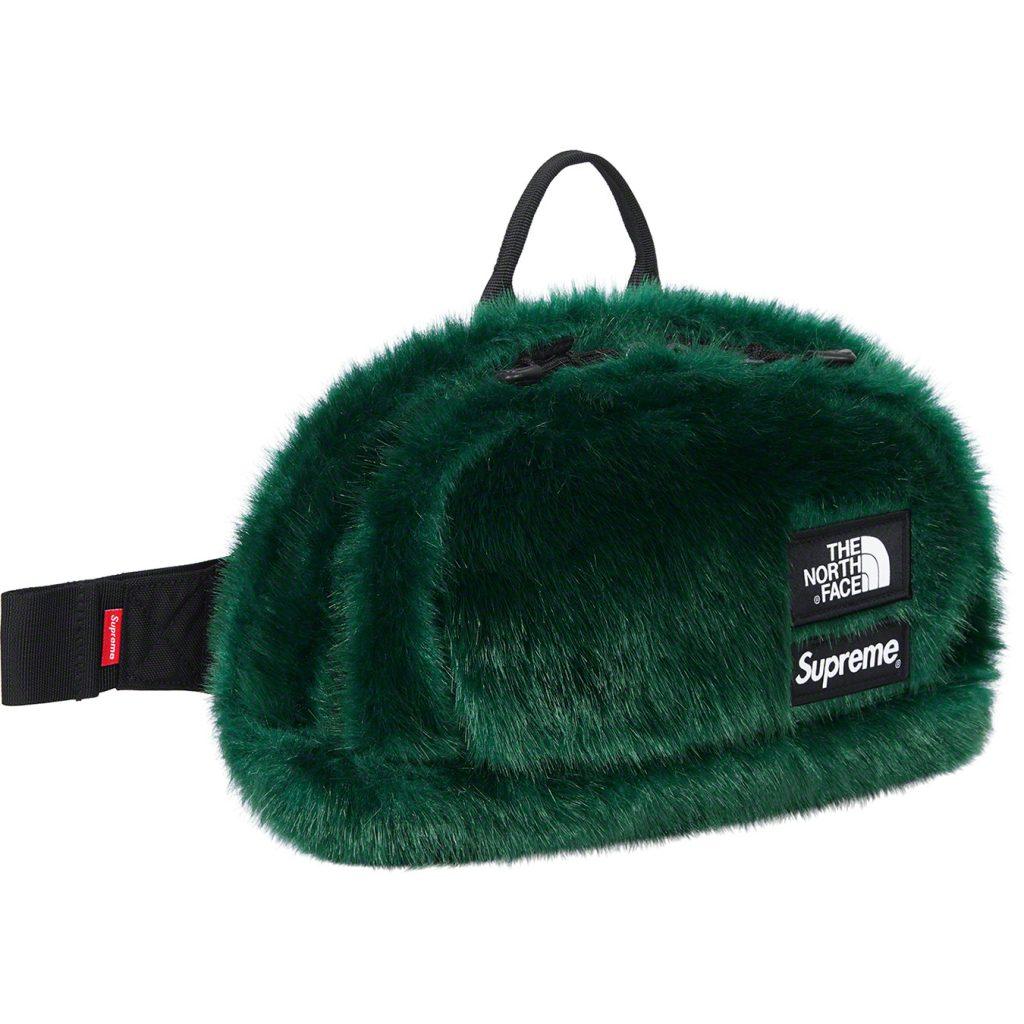 supreme-the-north-face-Faux-fur-waist-bag-20aw-20fw
