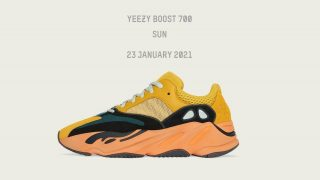 YEEZY BOOST 700 SUNが1/23に国内発売予定