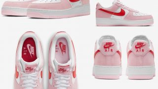 NIKE AIR FORCE 1 LOW VALENTINE'S DAY PINKが2/6に国内発売予定