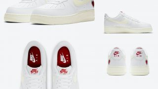 NIKE AIR FORCE 1 LOW VALENTINE'S DAY WHITEが2/6に国内発売予定【直リンク有り】