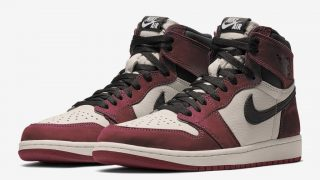 NIKE AIR JORDAN 1 HIGH OG BURGUNDY CRUSHが2021年末に海外発売予定