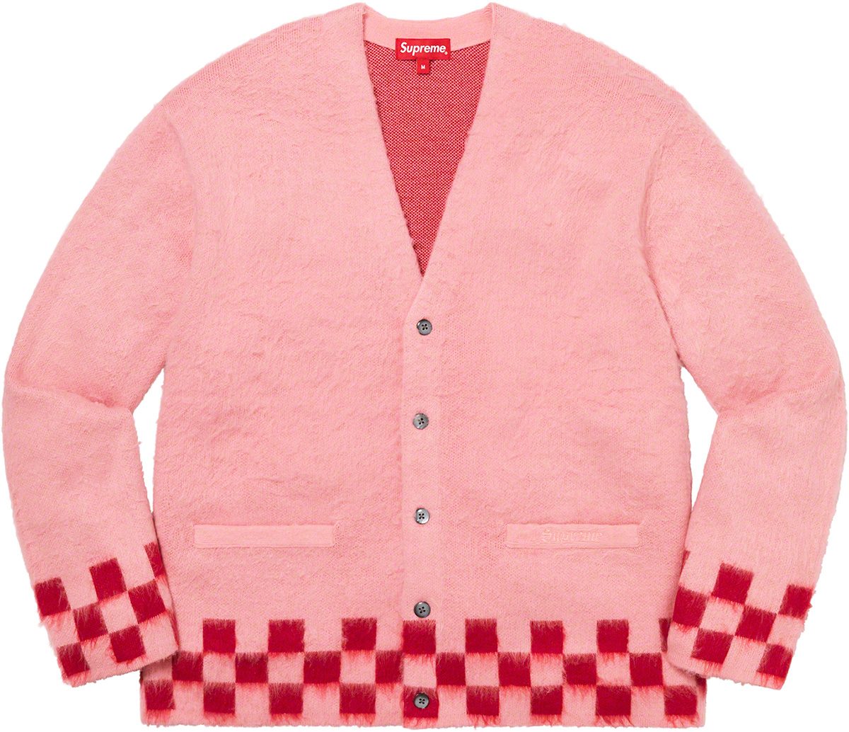 supreme-21ss-spring-summer-brushed-checkerboard-cardigan