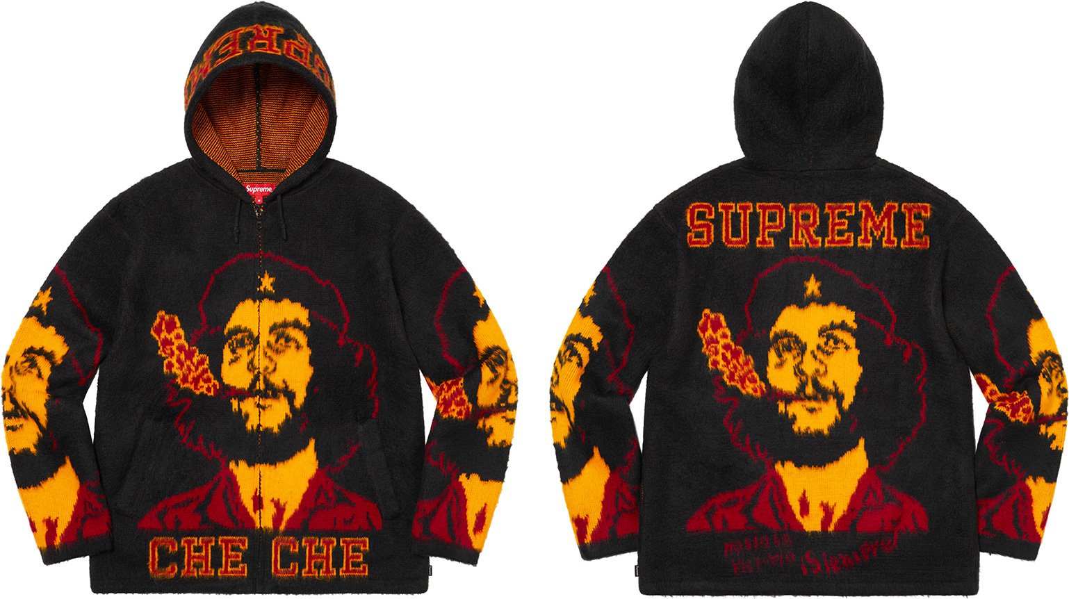 supreme-21ss-spring-summer-che-hooded-zip-up-sweater