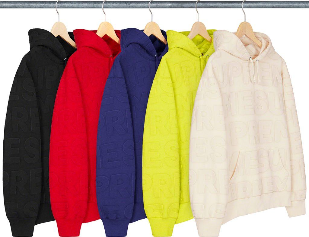 supreme-21ss-spring-summer-embossed-logos-hooded-sweatshirt