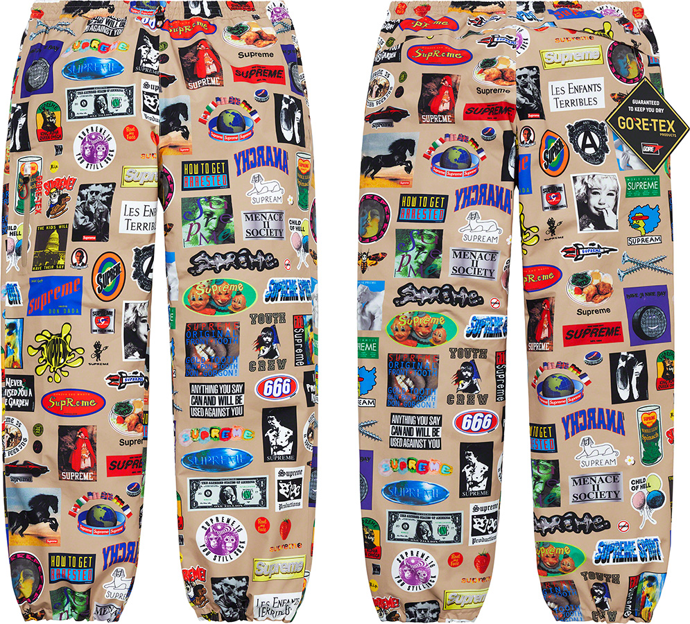 supreme-21ss-spring-summer-gore-tex-stickers-pant