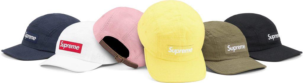 supreme-21ss-spring-summer-linen-camp-cap