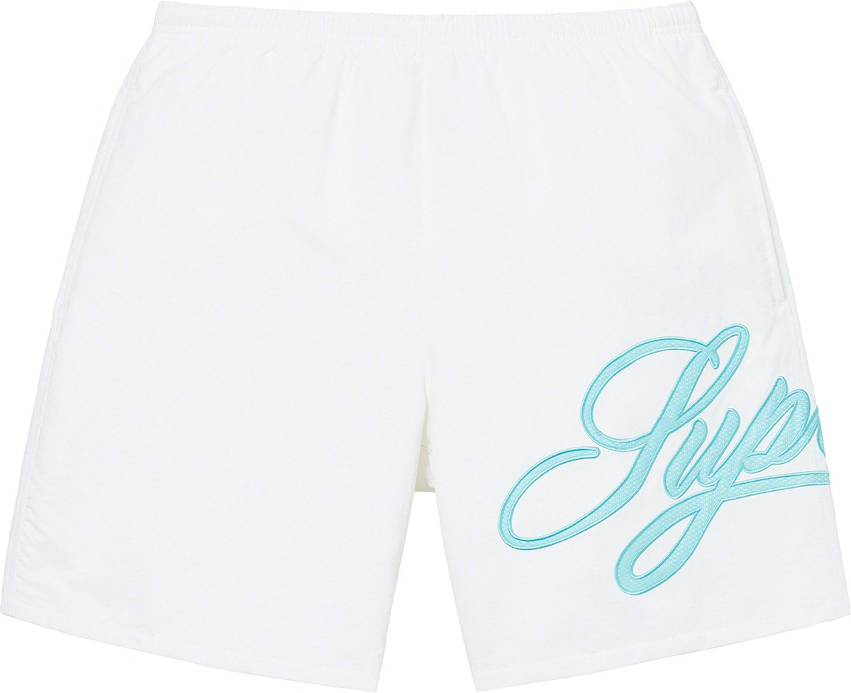 supreme-21ss-spring-summer-mesh-script-water-short