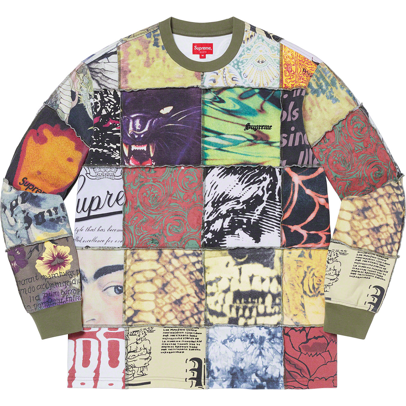 supreme-21ss-spring-summer-mosaic-patchwork-l-s-top