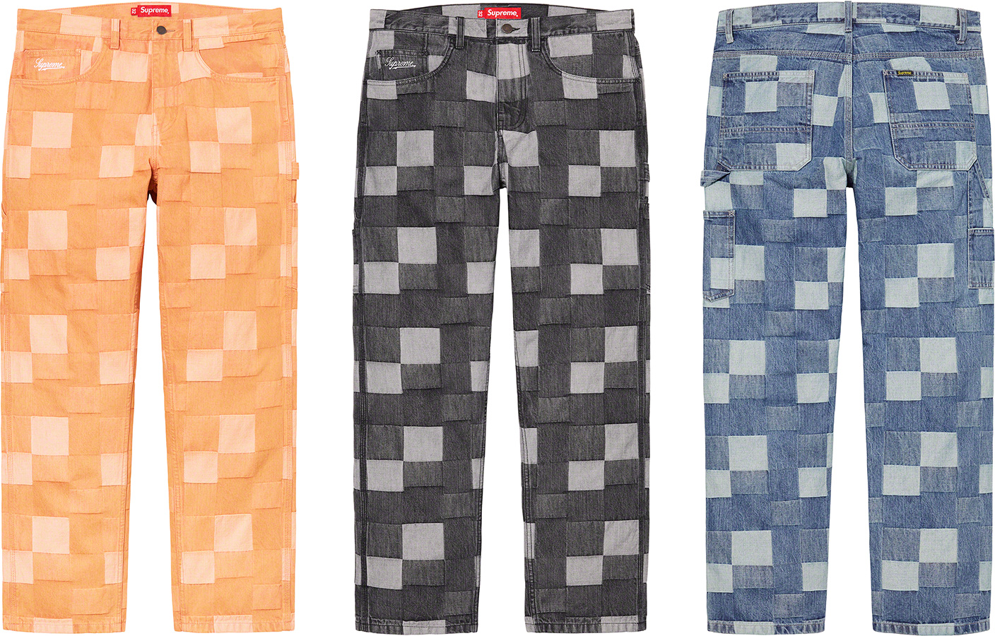 supreme-21ss-spring-summer-patched-denim-painter-pant