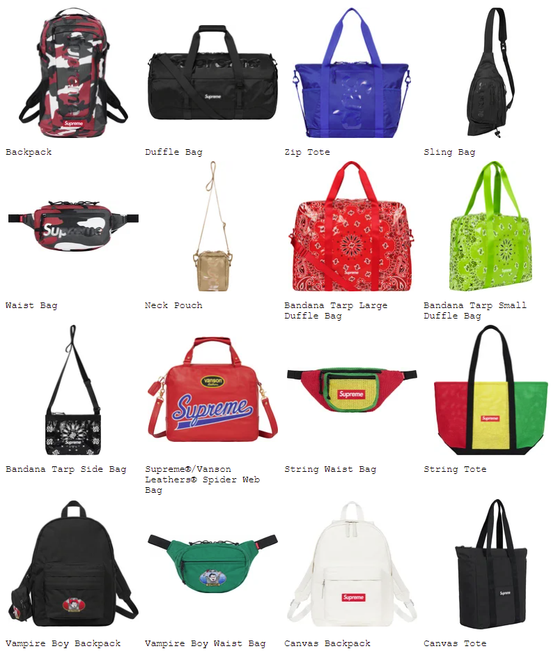 supreme-21ss-spring-summer-preview-bag