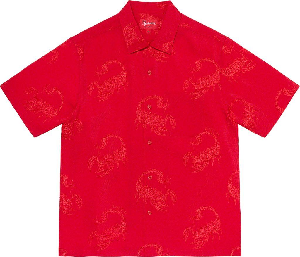 supreme-21ss-spring-summer-scorpion-jacquard-s-s-shirt