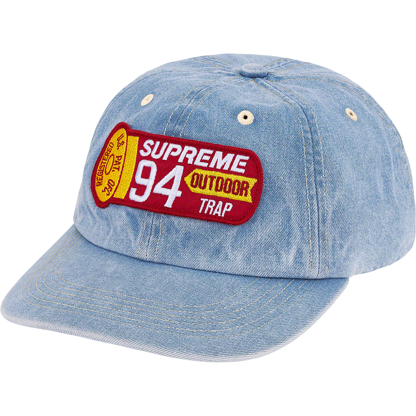 supreme-21ss-spring-summer-shell-patch-6-panel