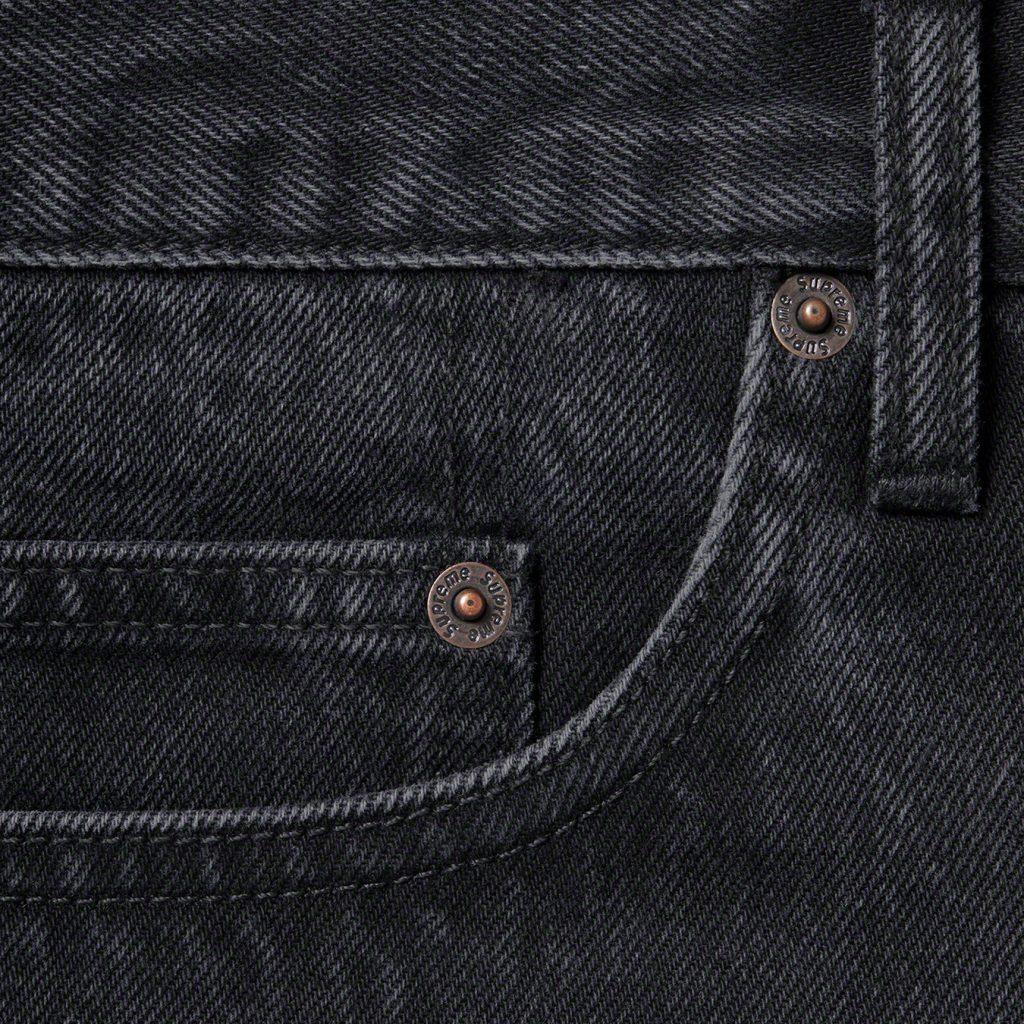 supreme-21ss-spring-summer-stone-washed-black-slim-jean