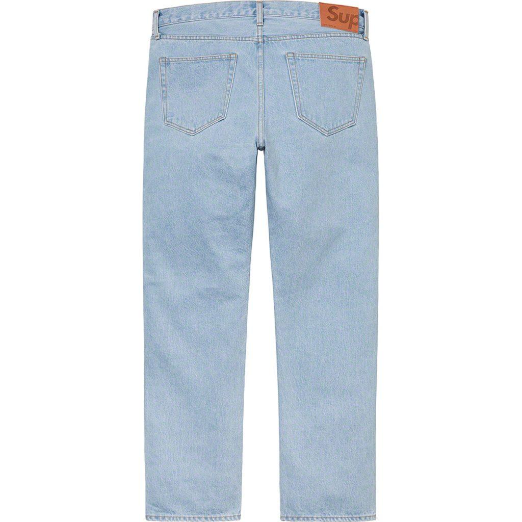 supreme-21ss-spring-summer-stone-washed-slim-jean