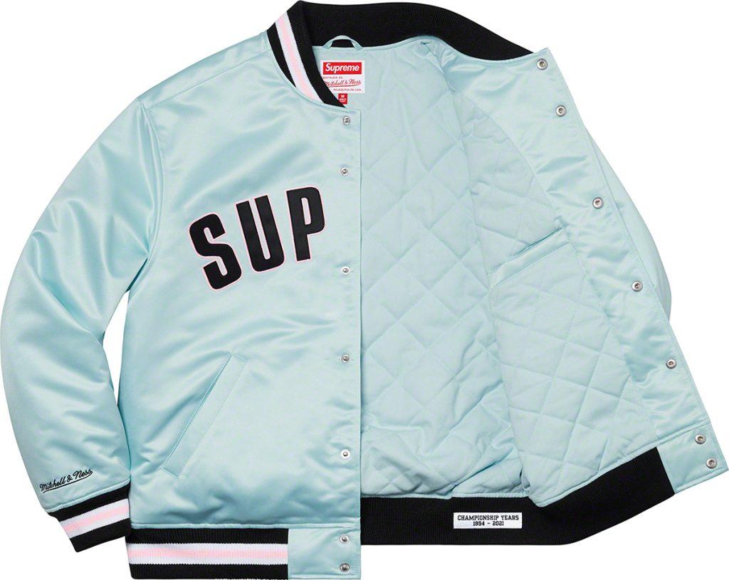supreme-21ss-spring-summer-supreme-mitchell-ness-satin-varsity-jacket
