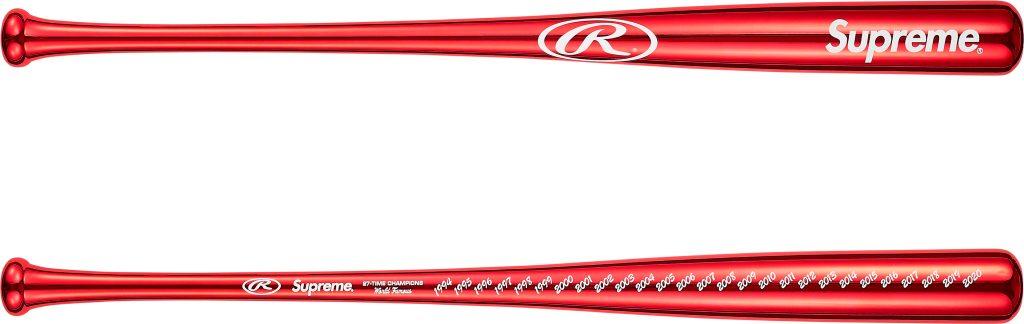 supreme-21ss-spring-summer-supreme-rawlings-chrome-maple-wood-baseball-bat