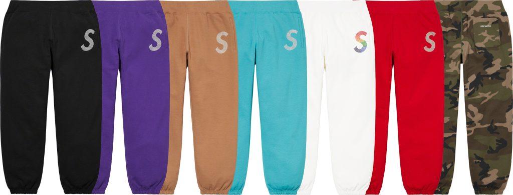 supreme-21ss-spring-summer-swarovski-s-logo-sweatpant