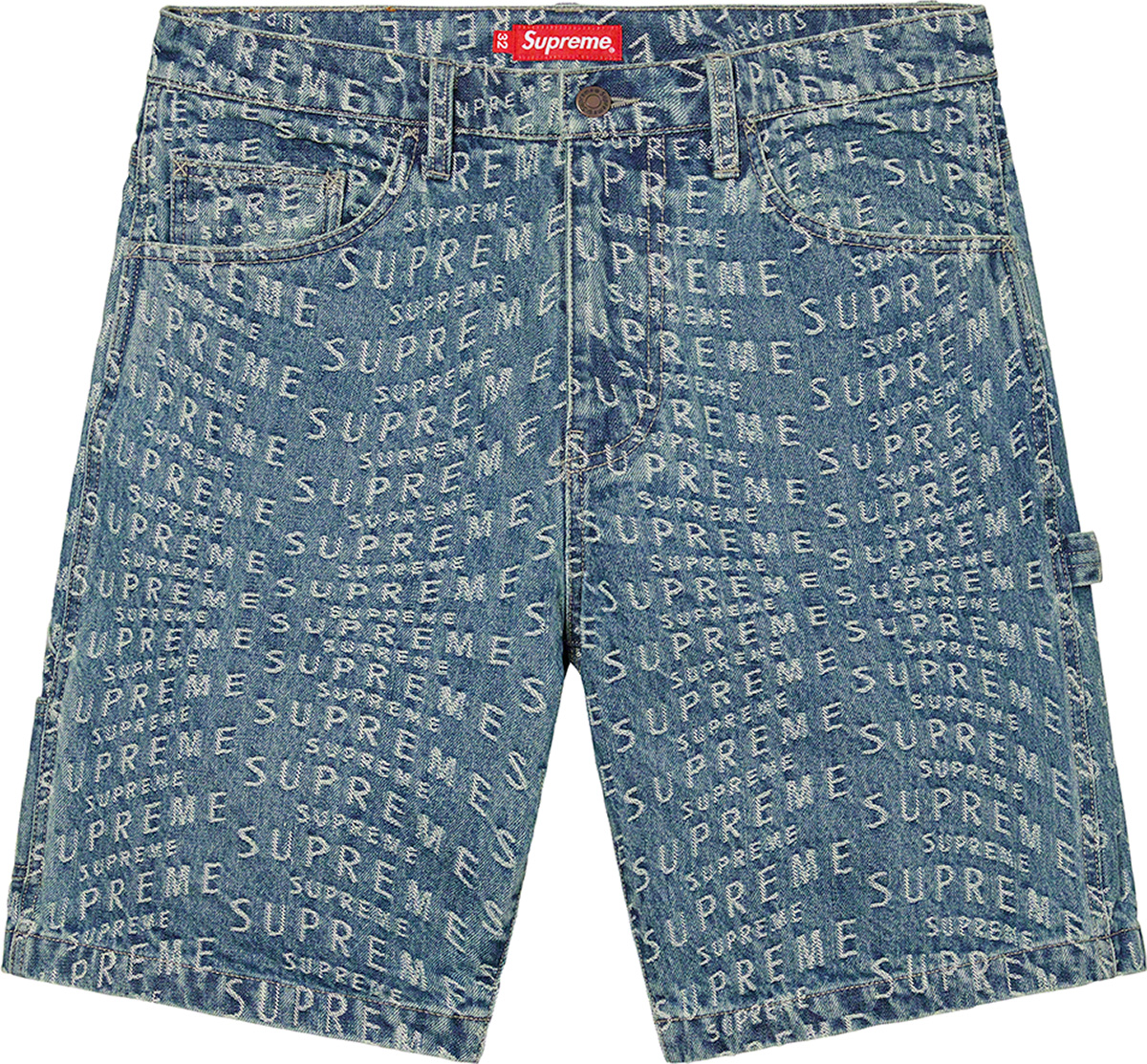 supreme-21ss-spring-summer-warp-jacquard-logos-denim-painter-short