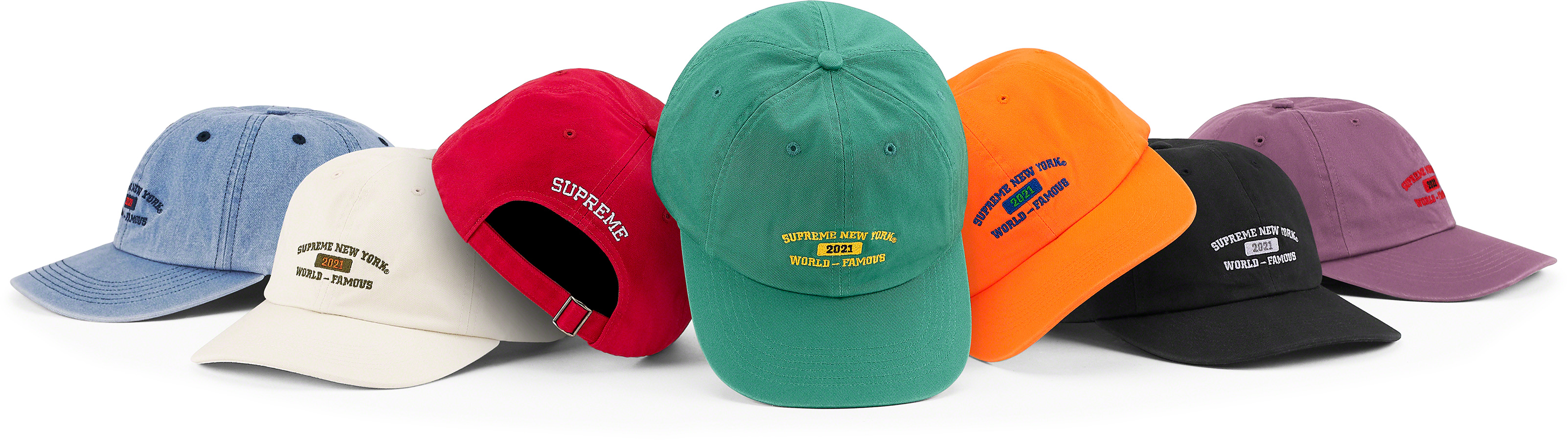 supreme-21ss-spring-summer-world-famous-6-panel