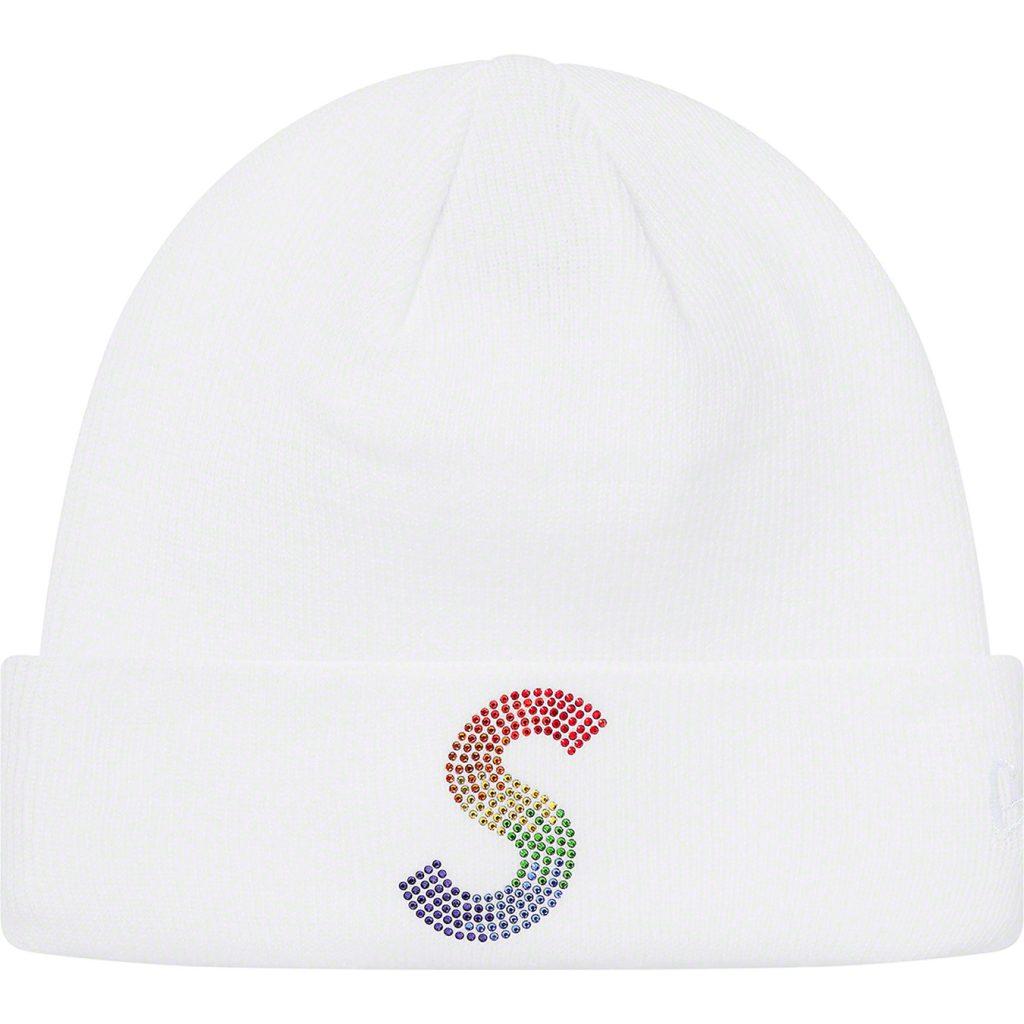 supreme-21ss-spring-summer-new-era-swarovski-s-logo-beanie