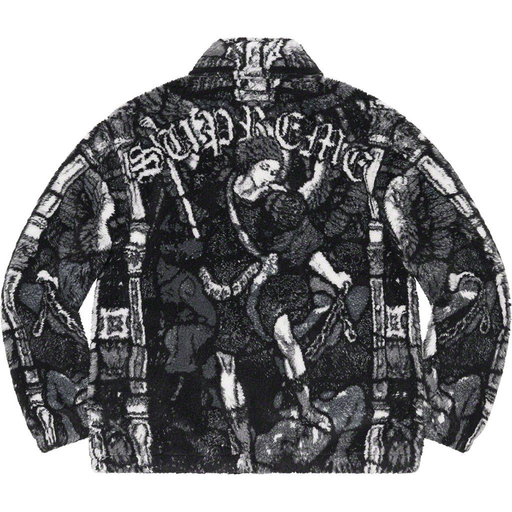 supreme-21ss-spring-summer-saint-michael-fleece-jacket