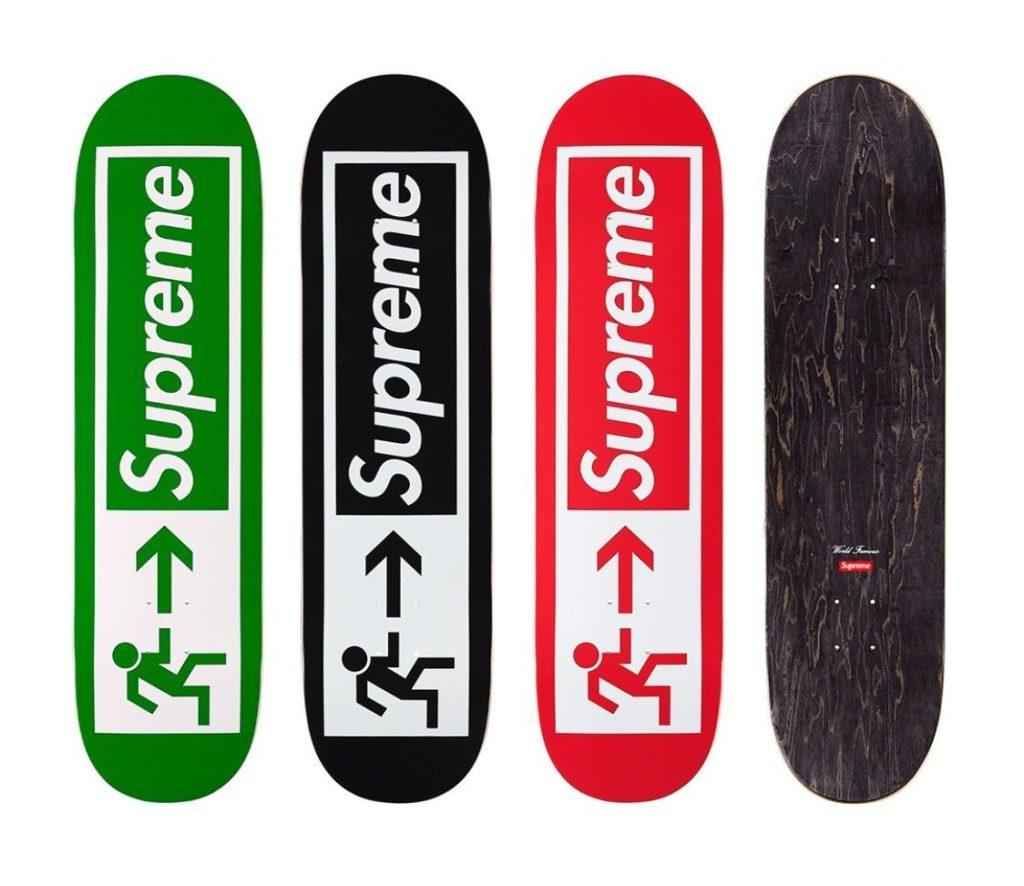 supreme-21ss-spring-summer-supreme-exit-skateboard