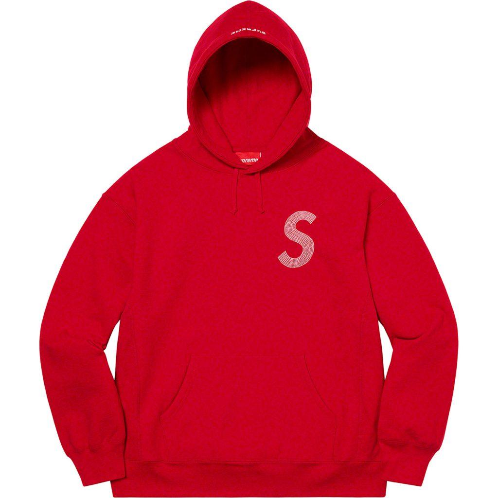 supreme-21ss-spring-summer-swarovski-s-logo-hooded-sweatshirt
